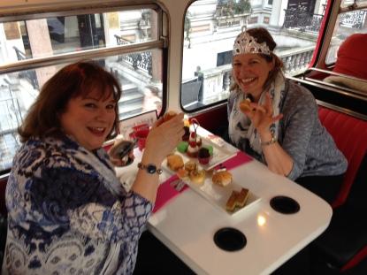 tea bus party